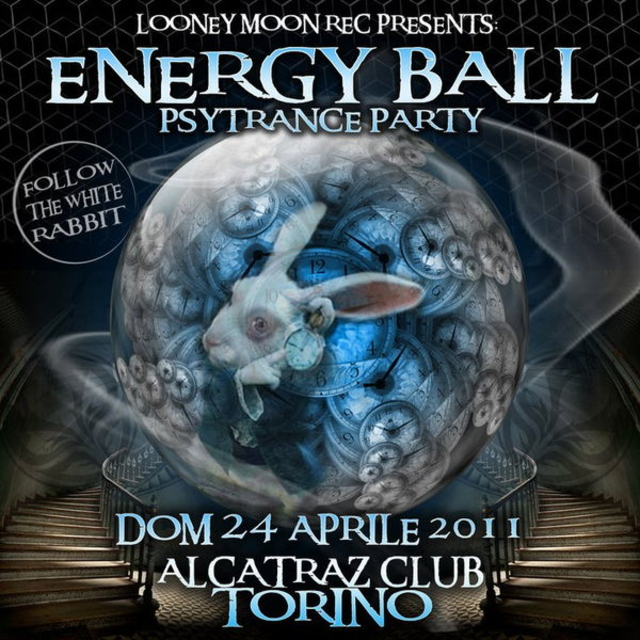 Party Flyer ENERGY BALL - Psy Trance Party - PANTOMIMAN Live (Russia) 24 Apr '11, 22:00