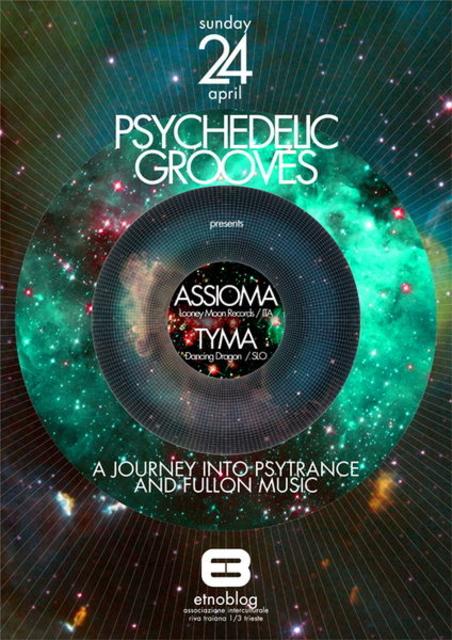 Party Flyer ๑۩๑ Psychedelic Grooves v.0.2 ๑۩๑ 24 Apr '11, 22:30
