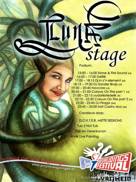 Party Flyer LUNA stage 5 May '11, 13:00