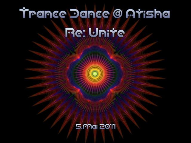 Party Flyer TranceDance @ Atisha | RE:UNITE 5 May '11, 19:00