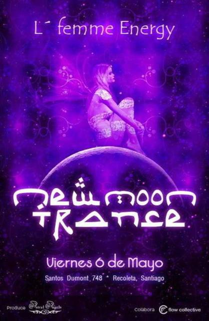 Party Flyer ** N E W M O O N T R A N C E - (NMT) - Femmes de l'énergie 6 May '11, 23:00