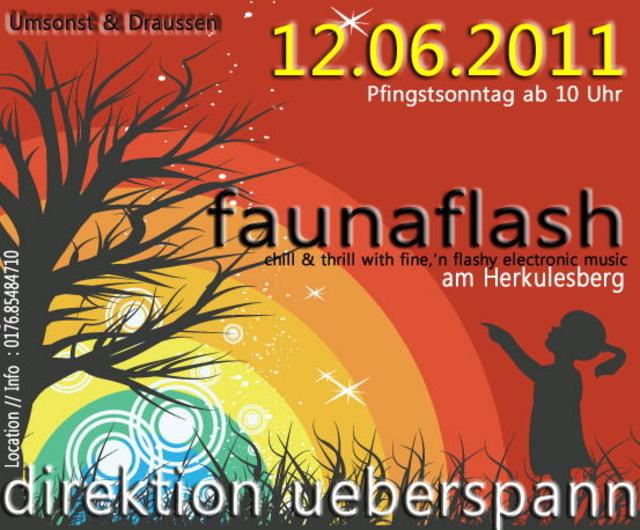 Party Flyer Fauna Flash 12 Jun '11, 10:00
