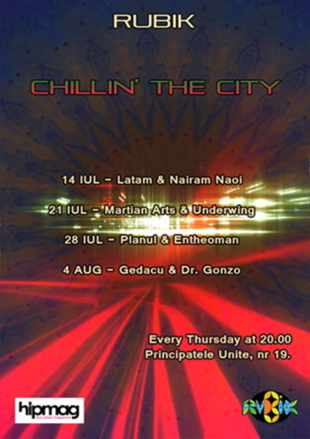 Party Flyer Chillin` the City 21 Jul '11, 20:00