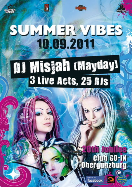 Summer Vibes 20th jubilee 10 Sep '11, 22:00