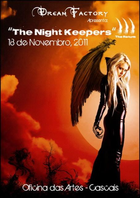 Party Flyer DREAM FACTORY ´´ THE NIGHT KEEPERS III ´´ OFICINA DE ARTES 18 Nov '11, 23:00