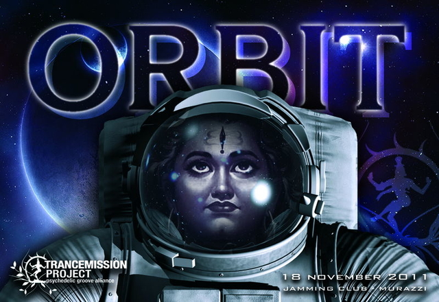 Party Flyer OrBIT by Trancemission project 18 Nov '11, 23:00
