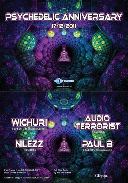 Psychedelic Anniversary 17 Dec '11, 23:30