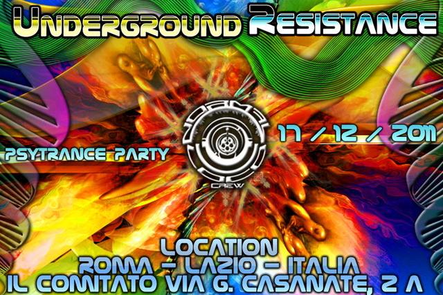 UNDERGROUND RESISTANCE 17 Dec '11, 23:00