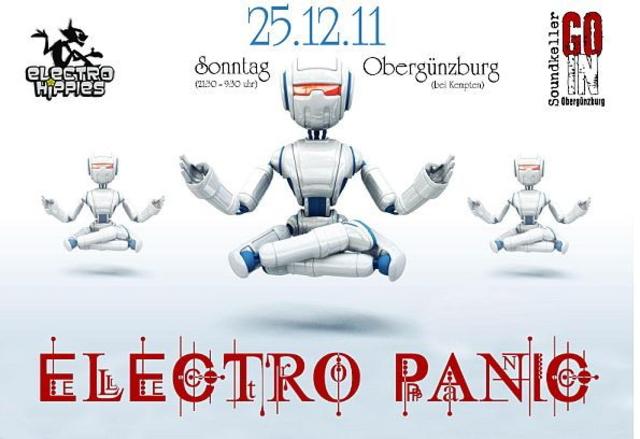 ELECTRO PANIC 25 Dec '11, 21:30