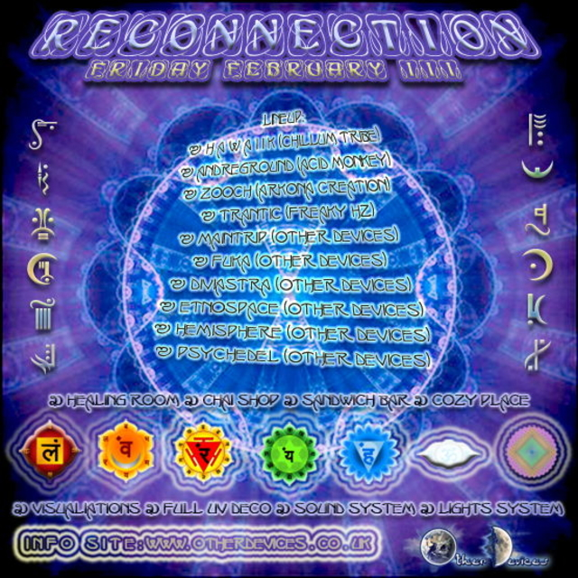 Party Flyer Reconnection 3 Feb '12, 22:00