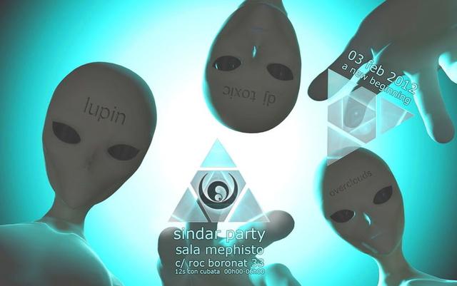 Party Flyer Sindar presents: A New Beginning 3 Feb '12, 23:30
