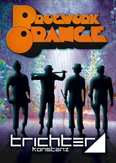 Party Flyer Progwork Orange pres. AUDIOMATIC (Spin Twist Rec.) 2 Mar '12, 23:00