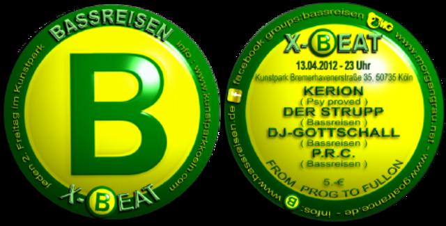 Bassreisen X-Beat @ Kunstpark 13 Apr '12, 23:00