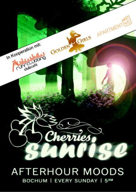 Party Flyer Cherries Sunrise Afterhour 22 Jul '12, 05:00