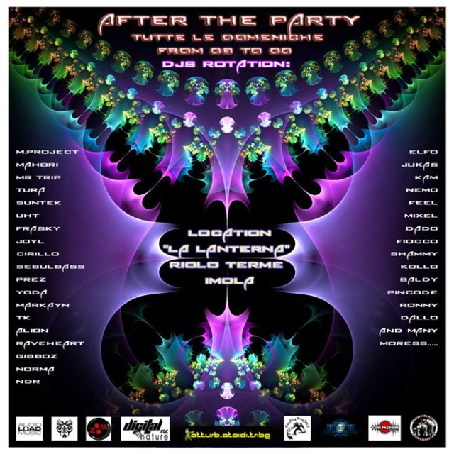 Party Flyer < AFTER THE PARTY > 22 Jul '12, 08:00