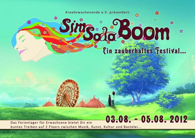 Party Flyer SimSalaBoom 2012 3 Aug '12, 18:00