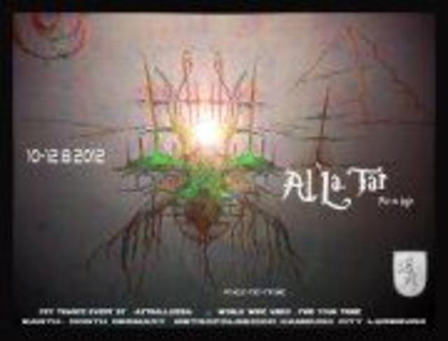 Party Flyer Al`La.Tar ... psy.co-logic 10 Aug '12, 22:00