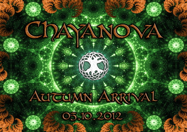 Party Flyer Chayanova *** Autumn Arrival *** 5 Oct '12, 22:00