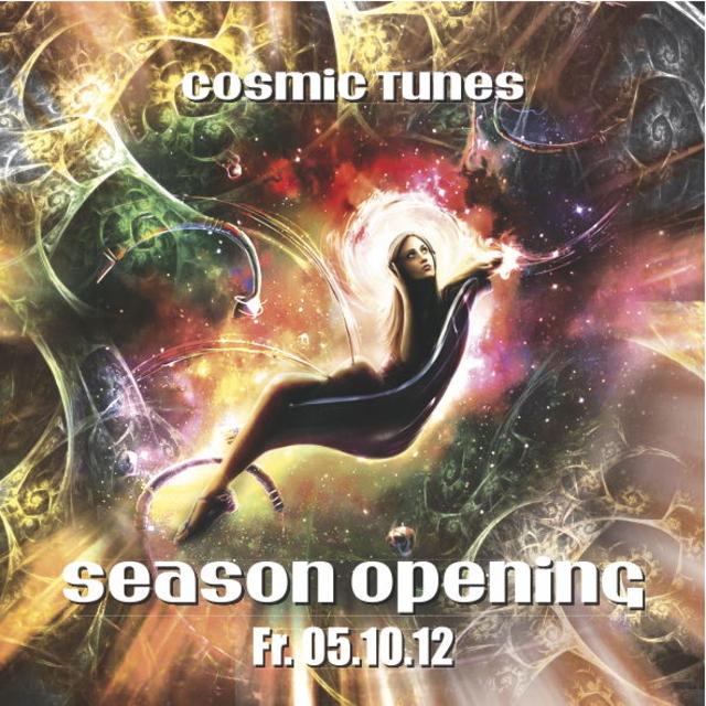 Party Flyer Cosmic Tunes - Season Opening 5 Oct '12, 23:00
