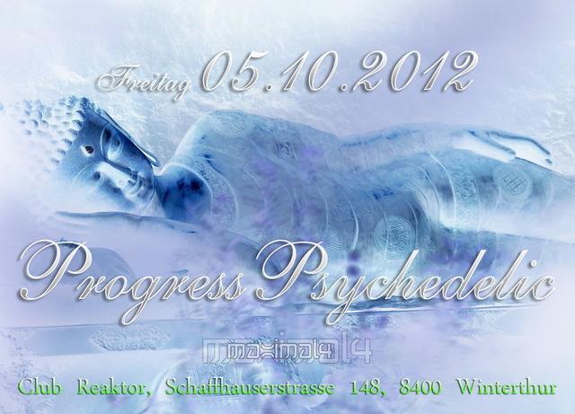 Party Flyer ProgressPsychedelic ((MAXIMAL4)) 5 Oct '12, 22:00