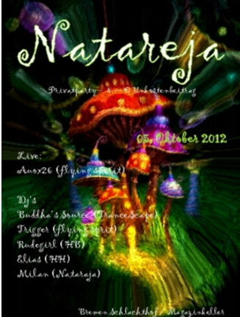 Party Flyer Natareja 5 Oct '12, 23:00