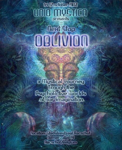 """Next stop...""""OBLIVION"""" 12 Oct '12, 22:00"""