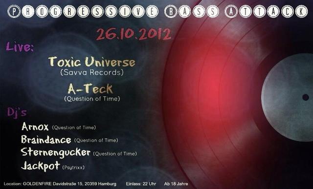 ★★★ Progressive Bass Attack ★★★ 26 Oct '12, 22:00