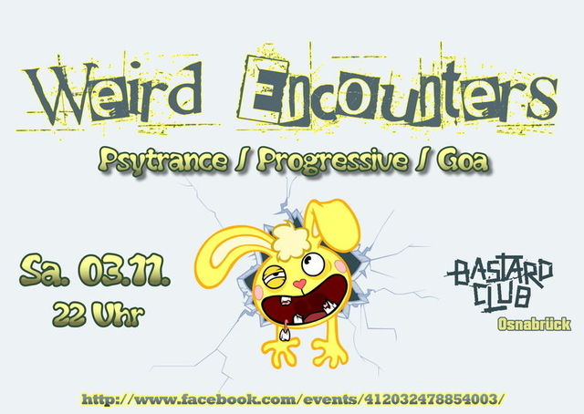 Weird Encounters 3 Nov '12, 22:00
