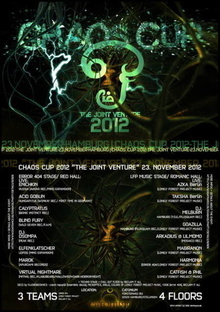 CHAOSCUP 2012 : THE JOINT VENTURE 23 Nov '12, 22:00