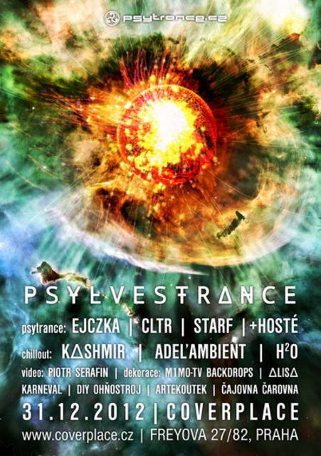 Party Flyer PSYLVESTRΔNCE 2012 31 Dec '12, 20:00