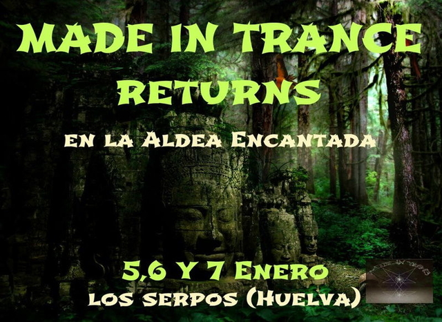 Party Flyer Made In Trance Return 5 Jan '13, 20:00