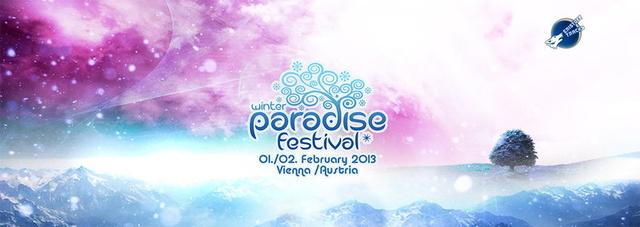 Party Flyer PARADISE WINTER FESTIVAL 2013 1 Feb '13, 21:00