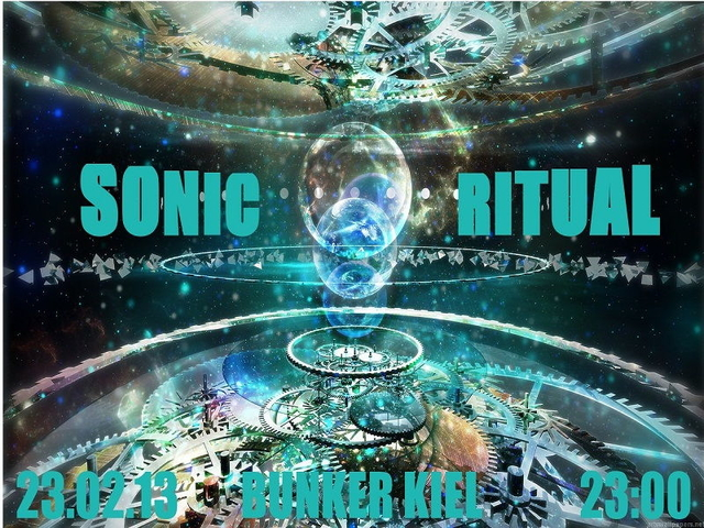 Party Flyer *°* SONIC RITUAL *°* 23 Feb '13, 23:00