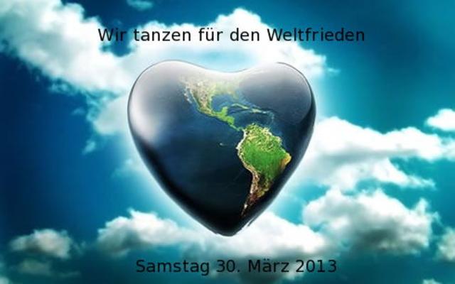Party Flyer Wir Tanzen für den Weltfriden 30 Mar '13, 18:00