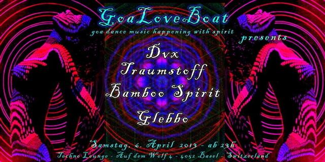 Party Flyer Goa Love Boat 6 Apr '13, 23:00