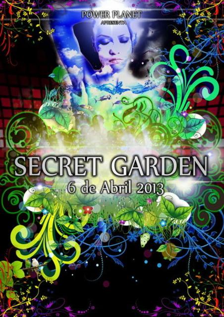 Party Flyer Secret Garden 6 Apr '13, 23:00