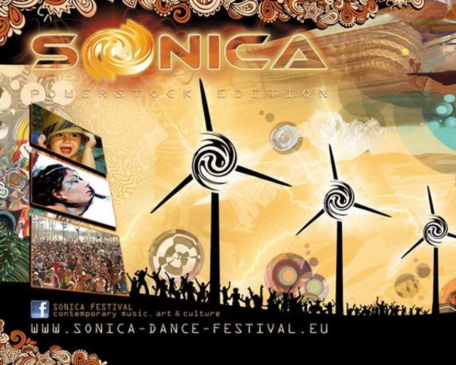 Party Flyer Shanti@Sonica Dance Festival promo party 6 Apr '13, 23:30