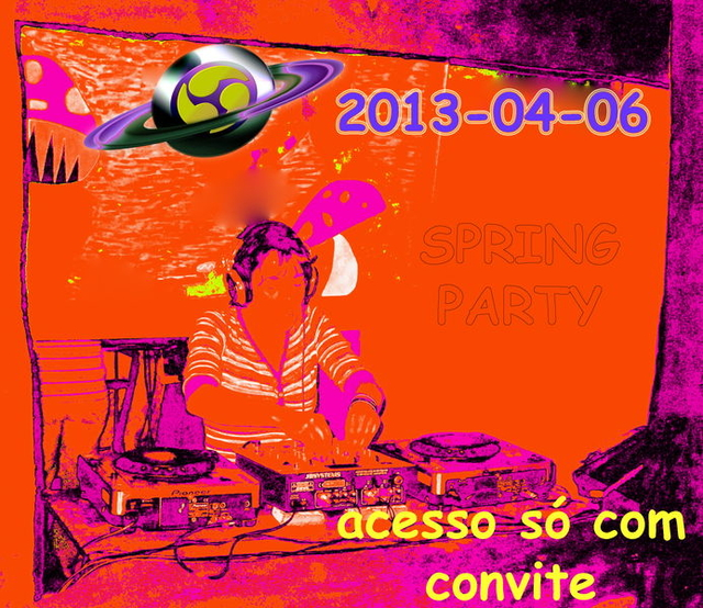 Party Flyer THE GODDESSES & us II 6 Apr '13, 23:30