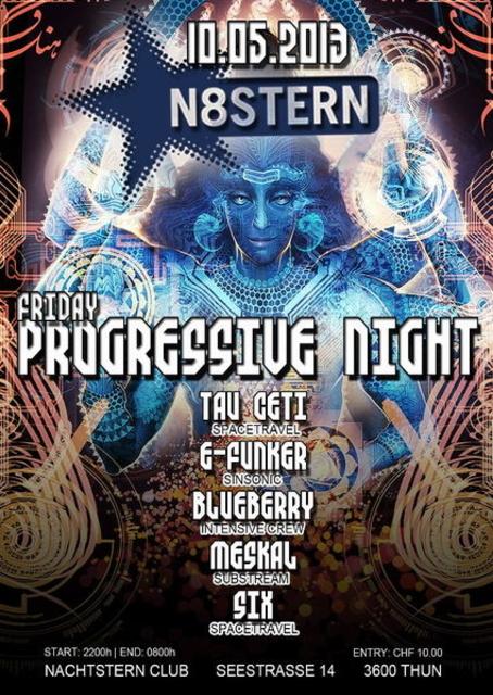 Party Flyer Friday Progressive Night 10 May '13, 22:00