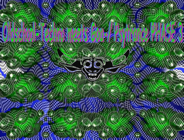 Party Flyer Oldschool Techno meets Goa-Psytrance 3 10 May '13, 22:00