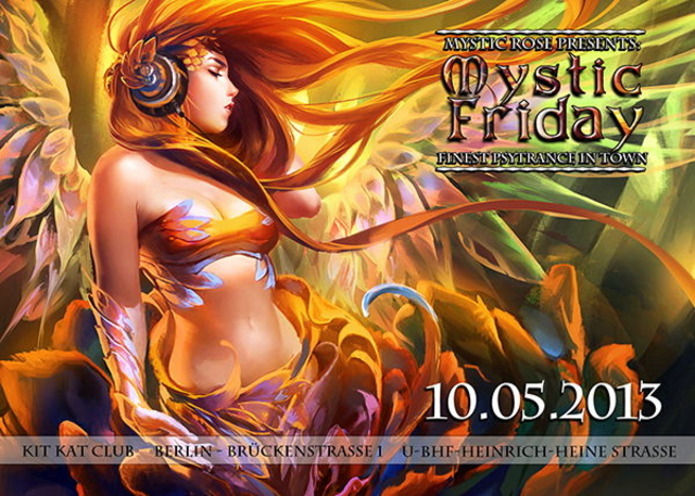 Party Flyer The Mystic Friday 10 May '13, 23:00