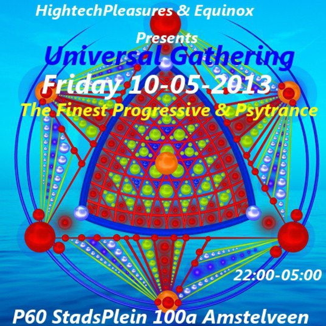 Party Flyer Universal Gathering 10 May '13, 22:30