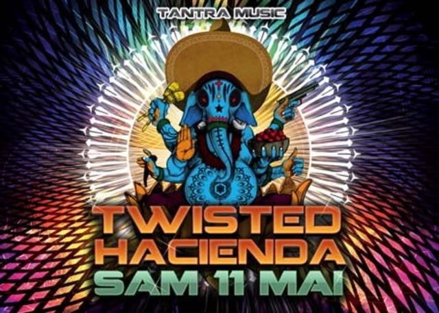 Party Flyer TWISTED HACIENDA 11 May '13, 18:00