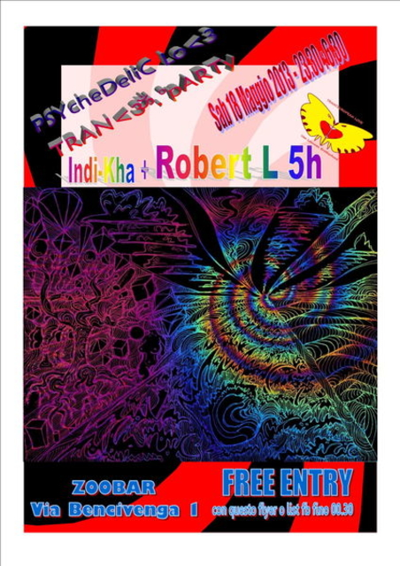 Party Flyer PSYCHEDELIC LOVE TRANCEUROPARTY FREEENTRY Van Leonsky Brotherhood @ Zoobar 18 May '13, 23:30