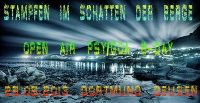 Party Flyer Mountainbike Arena GOA PARTY (Acid M )Martins B-Day ) 8 Jun '13, 20:00
