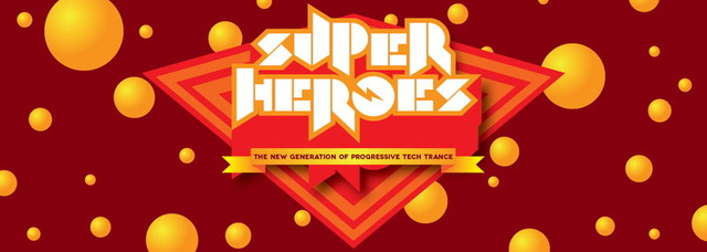 Party Flyer SUPERHEROES 24 May '13, 23:00