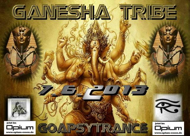 Party Flyer GANESHA - TRIBE 7 Jun '13, 22:00