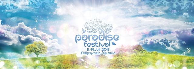 Party Flyer PARADISE FESTIVAL 2013 11 Jul '13, 22:00