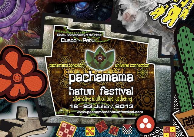 Party Flyer pachamama hatun festival 2013 18 Jul '13, 17:00
