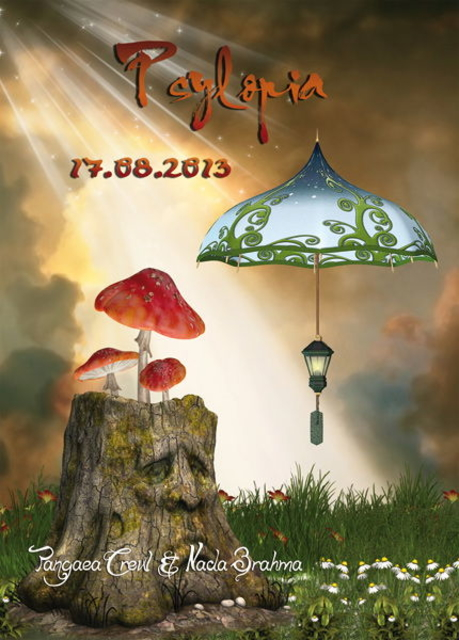 Party Flyer ABGESAGT - CANCELLED: PSYLOPIA 17 Aug '13, 22:00